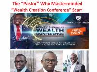 "Dr Charles Kinuthia: The ""Pastor"" Who Masterminded ""Wealth Creation Conference"" Scam"