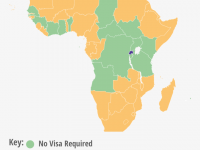 In East and Central Africa, Rwanda Is Easiest To Access For Other Africans