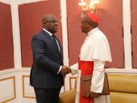 "DRC President in Talks With Cardinal Ambongo Who Alleged ""Balkanisation Project"""