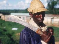 How 581 Tons of Machetes Were Purchased for Genocide