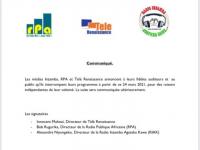 Burundian Radios Operating from Rwanda Suspend Broadcasts